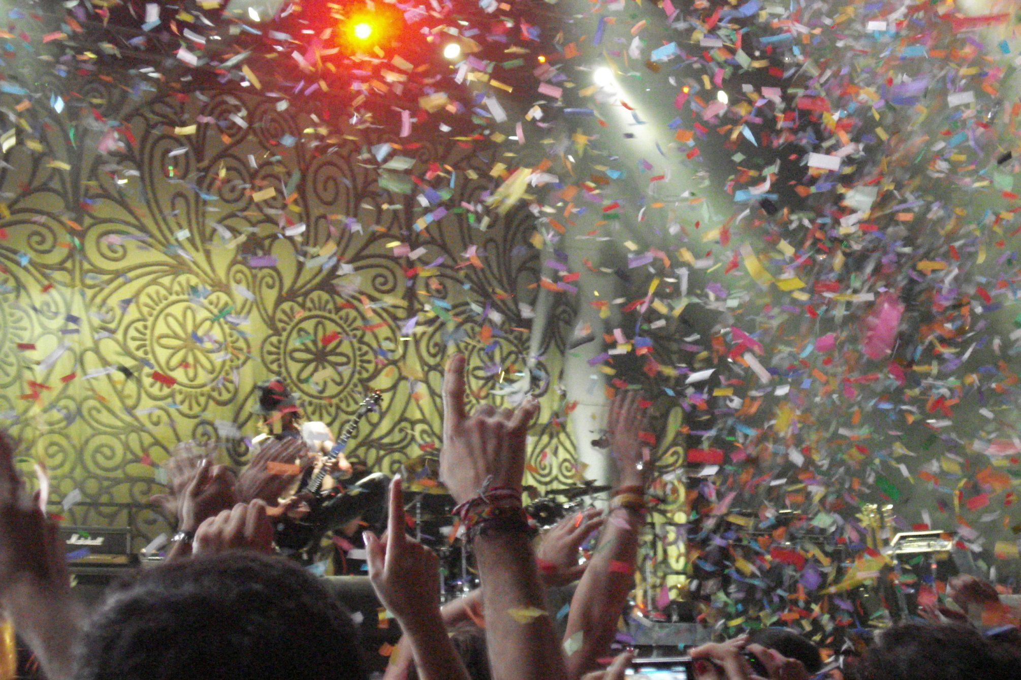 Foto tirada num concerto de Jane´s Addiction, 2011